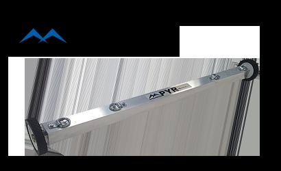 Pyr 3x3 magnetic sweeper bluestreak equipment