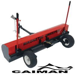 Caiman magnetic sweeper - bluestreak equipment