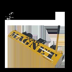 yak magnetic sweeper bluestreak equipment