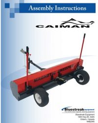 Caiman Assembly Instructions PDF