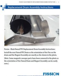 Fission PVC Replacement Drum Assembly Instructions