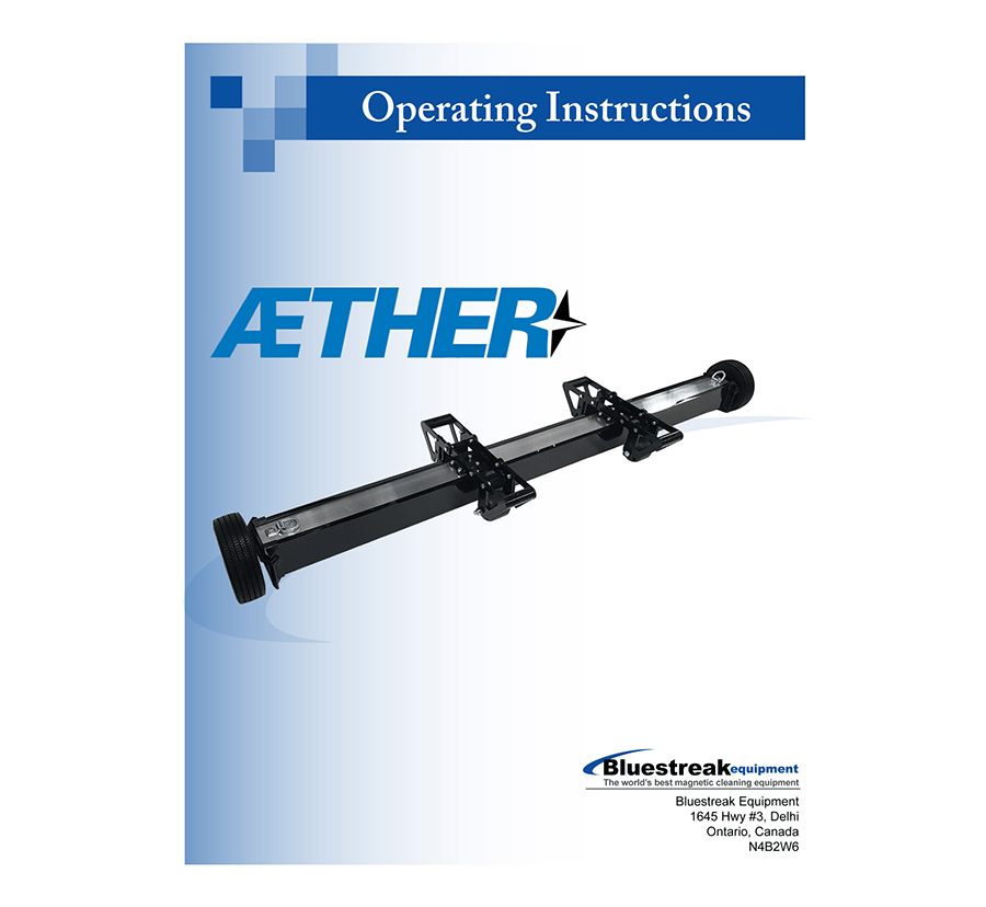Aether Series Operating Instructions