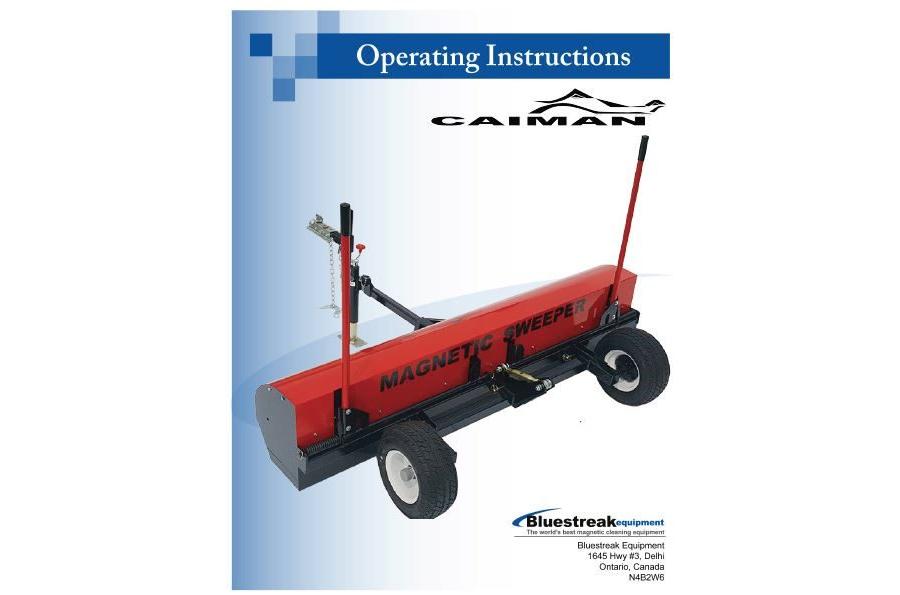 Caiman Operating Instructions PDF