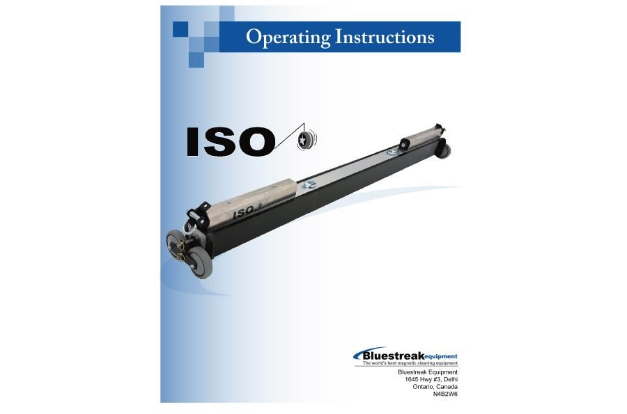 ISO Operating Instructions PDF