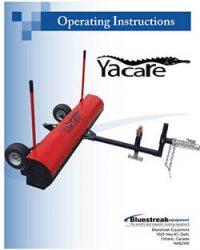 Yacare Operating Instructions PDF